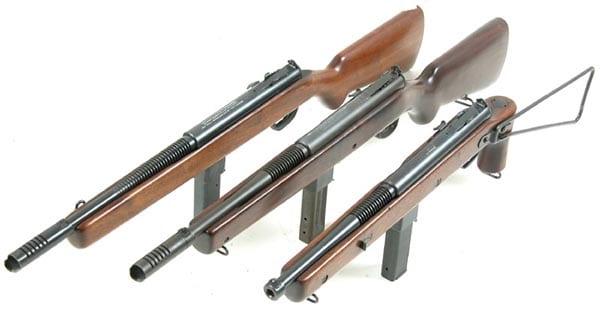 Reising subgun in various sizes