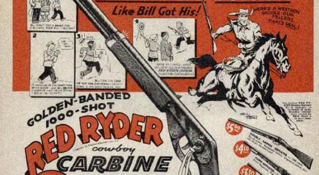 red ryder pellet gun