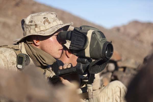 Scout sniper glass.