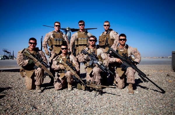 Scout sniper teams