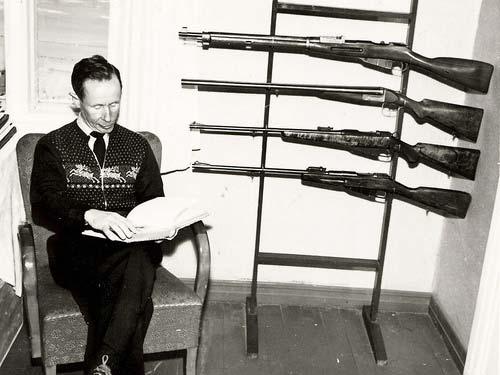 Simo Hayha hunting rifles