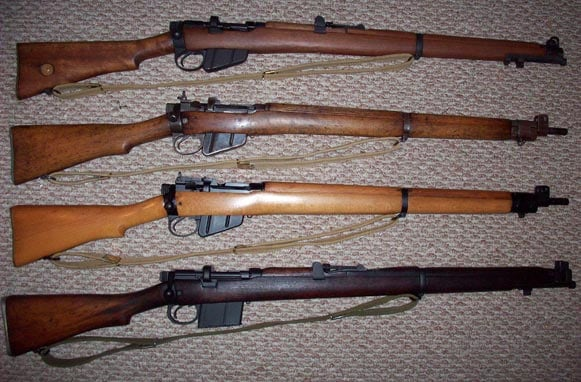 Lee-Enfield SMLEs