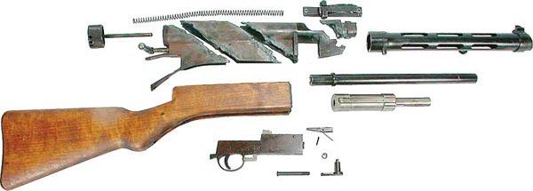 Suomi parts kit.