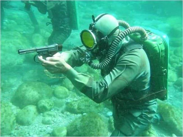 Soviet SPP-1 underwater pistol