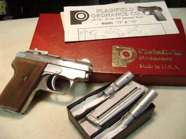 Stainless steel Plainfield pistol