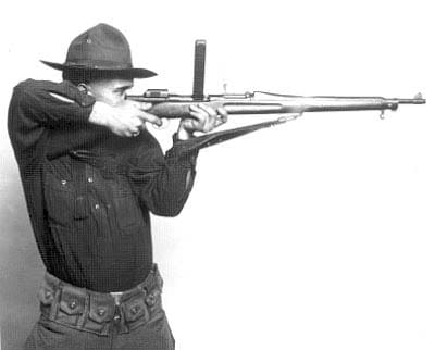 The Petersen on a Springfield 1903.