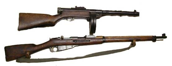 Finnish WWII weapons