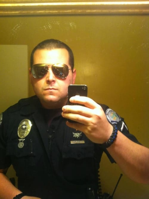 Serious Officer is Serious