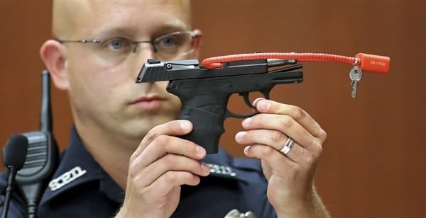 Does Zimmerman even want his gun back? Nobody knows. (Photo credit: ABC)