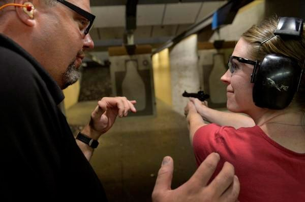 A violent attack of a NJ mom caught on her nanny cam prompted one woman to attend a concealed carry class. (Photo credit: The Denver Post)