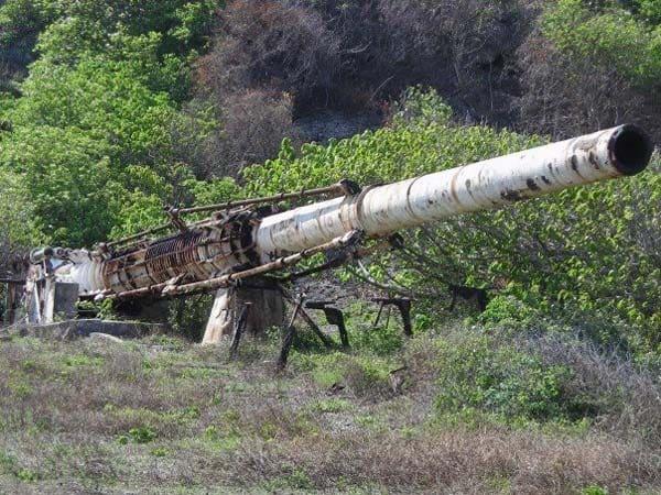 Abandoned HARP gun