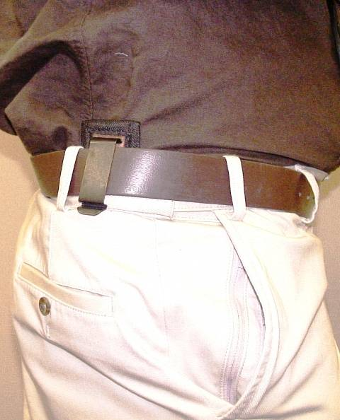 inside the pants holster