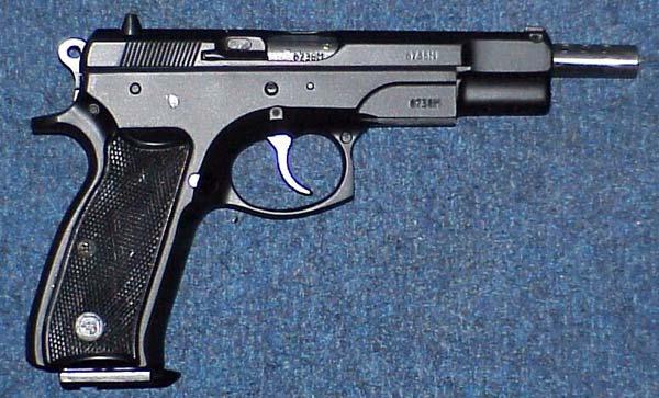 CZ75 Full Automatic,