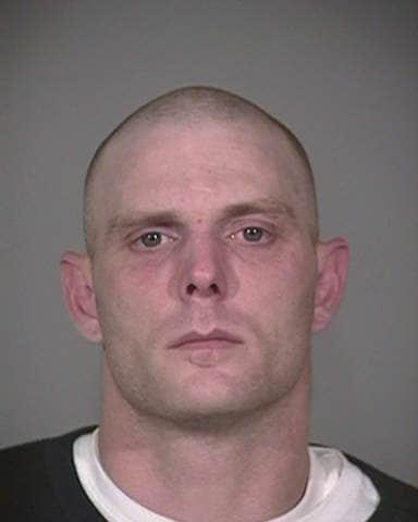 A police mugshot of Joshua Renick.