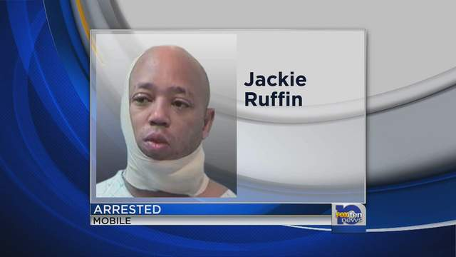 Jackie Ruffin arrest feature photo on news