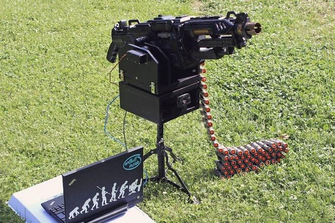 Nerf Sentry Gun (2)
