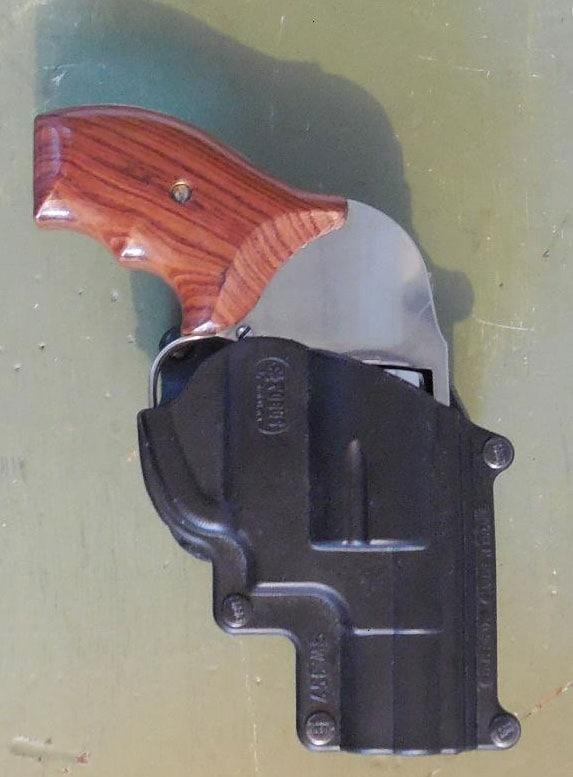 S&W Model 649 in Fobus holster
