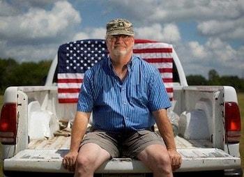 Army Vet. Ron Kelly Credit: Houston Chronicle