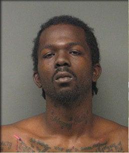 Mugshot of  Tyaaron Harris (Photo credit: KMOV, St. Louis)