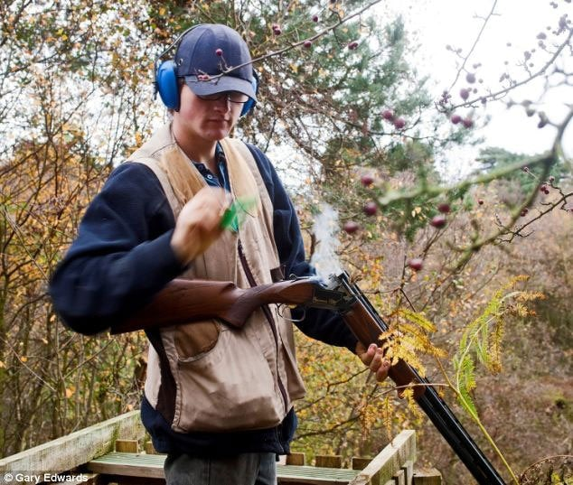 Bills Edwards was responsible for keeping vermin from destroying crops and livestock at his farm, but is unable to maintain that job without the use of a firearm. (Photo credit: Gary Edwards)