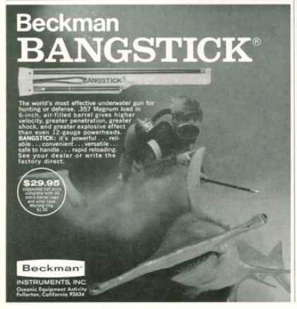 Beckman bangstick ad