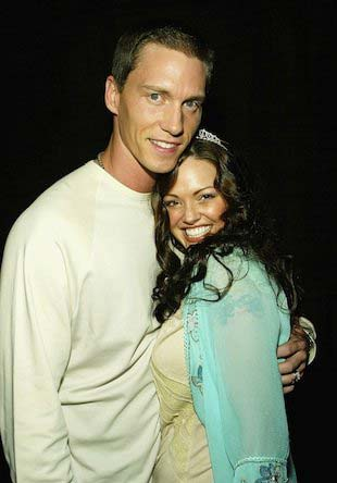 Anna and Kris Benson during happier times.