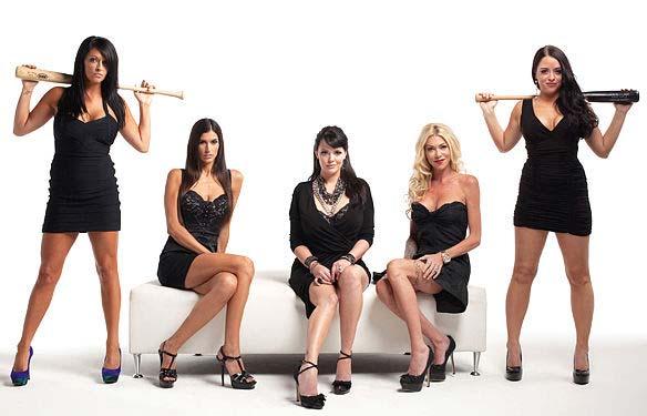 Cast of 'Baseball Wives'.