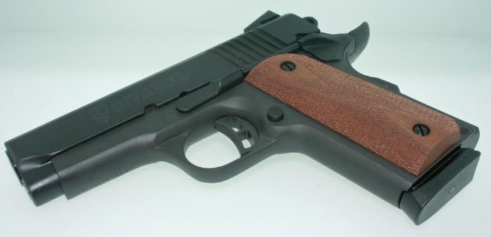 citadel m1911 with wooden grip
