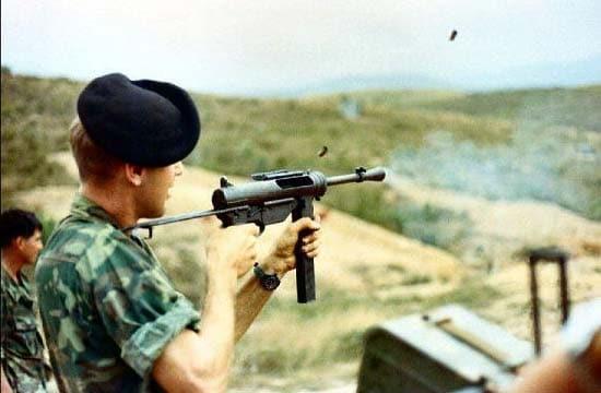 Grease gun in Vietnam.