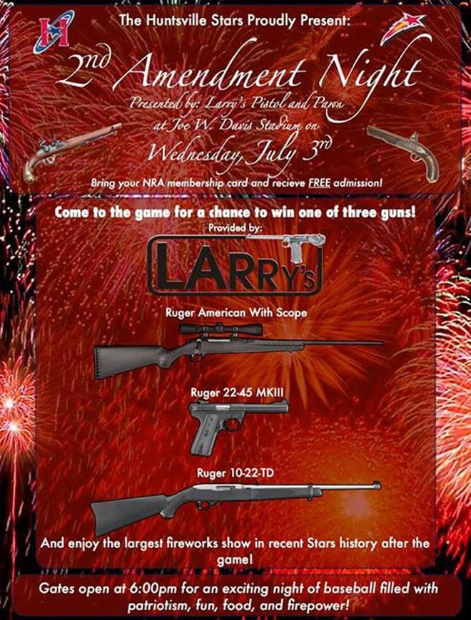 huntsville stars gun banner