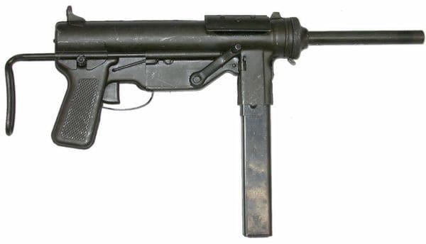 M3 submachine gun.