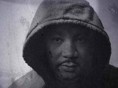 MLK in Trayvon hoodie
