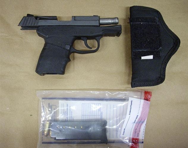 Zimmerman Kel-Tec PF9 murder weapon