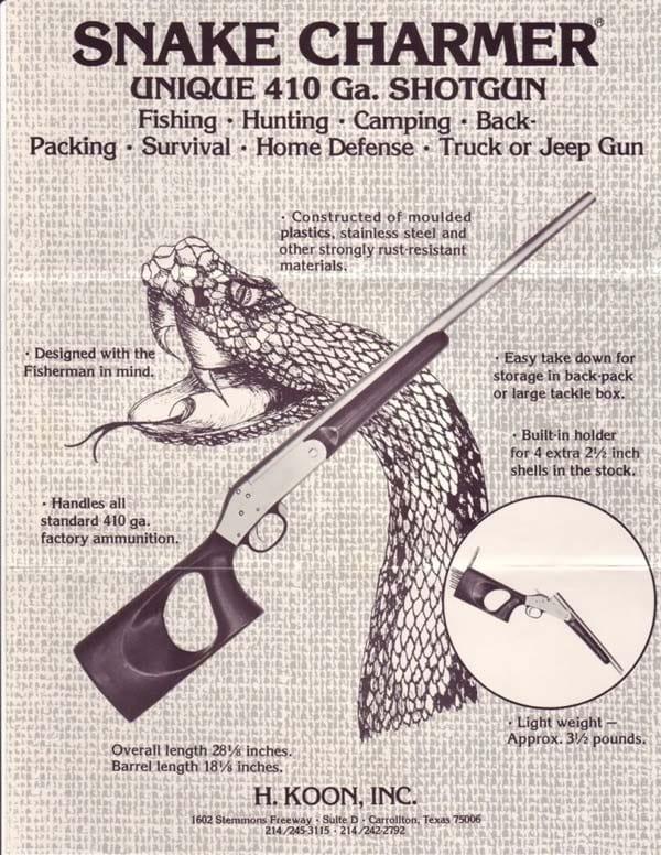 Snake shotgun