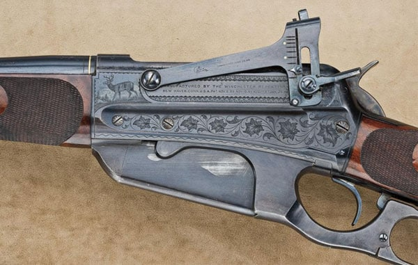 inlay on Winchester 1895