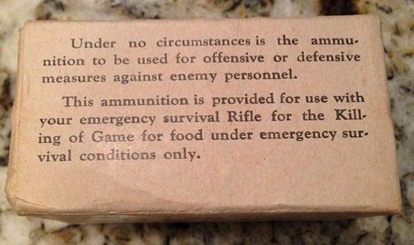 M6 rifle hornet disclosure