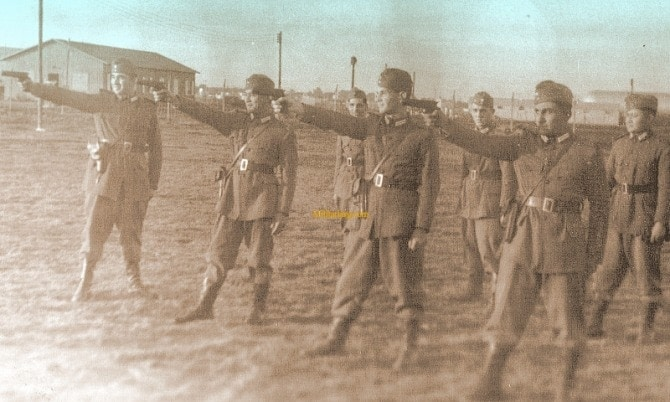ballester molina with Argentine troops