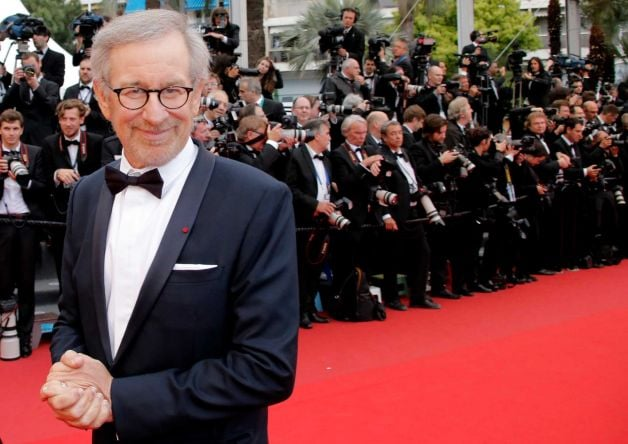 Steven Spielberg on the red carpet.
