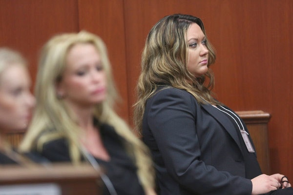 Shellie Zimmerman indicated in the exclusive interview that there was trouble in their marriage even before the shooting of Trayvon Martin. (Photo credit: Orlando Sentinel)
