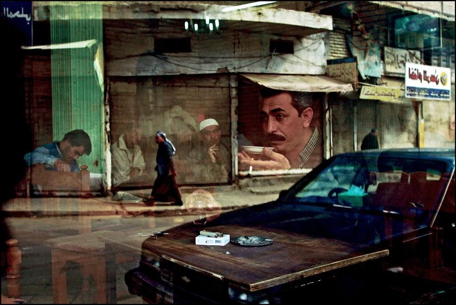Baghdad February 12, 2003.  Six weeks before the start of the wa