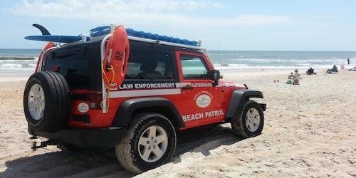 beach patrol jeep