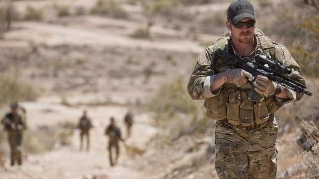 Chris Kyle on a training course for Craft International.