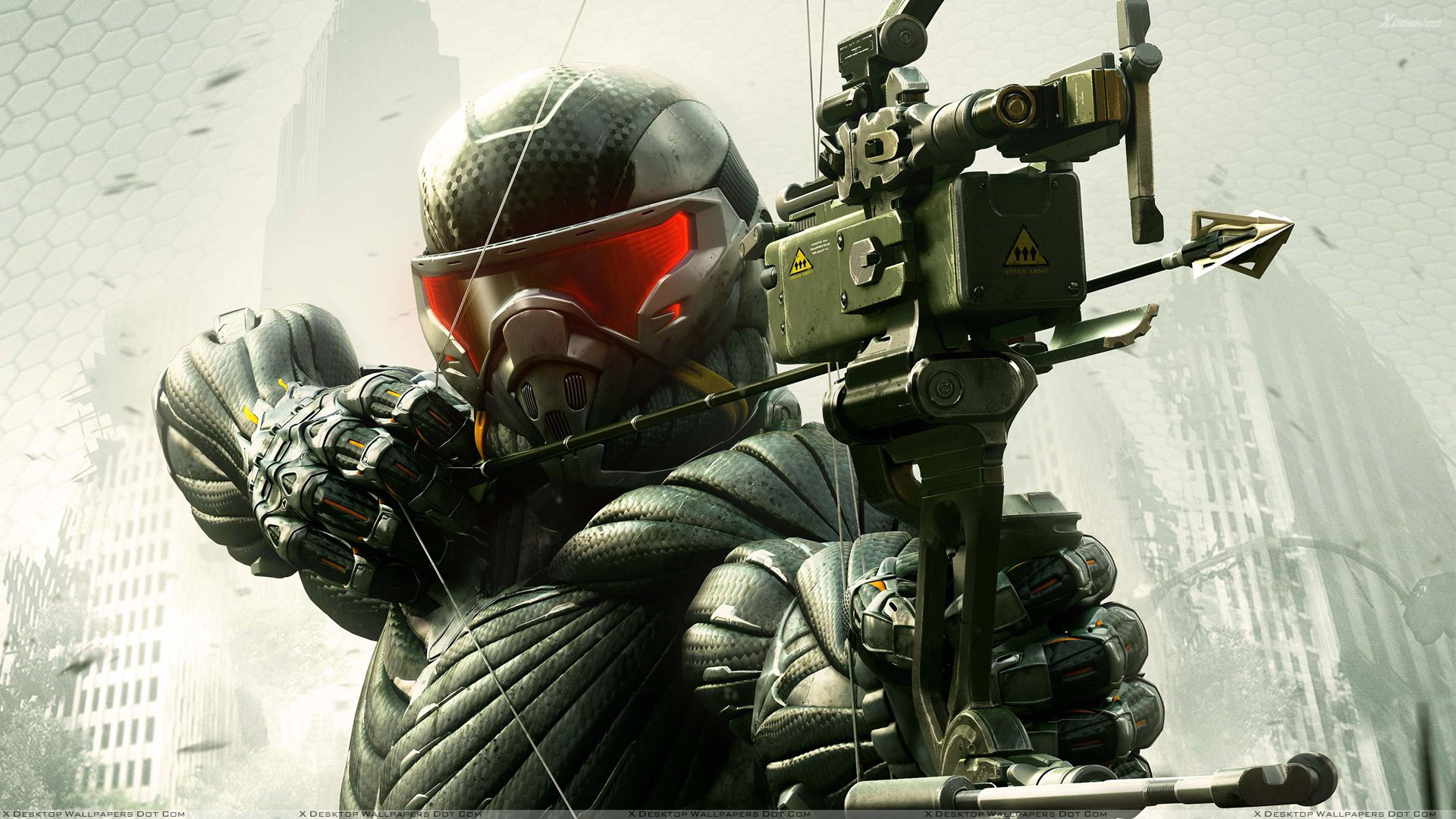 Crysis 3 Hunter Arrow And Bow In Hand