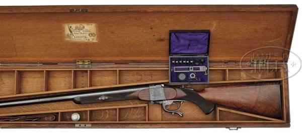 Gibbs safari rifle.