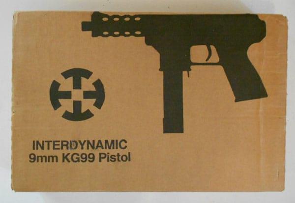 KG-99 Pistol box