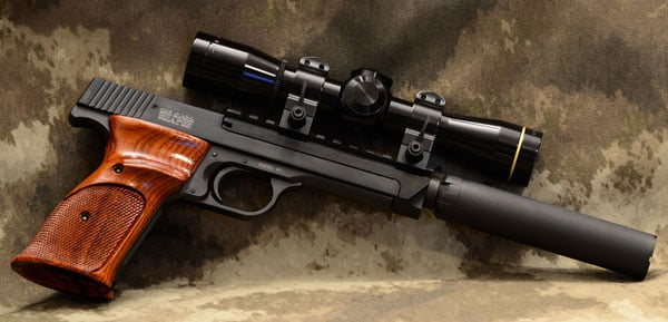 Model 41 with suppressor