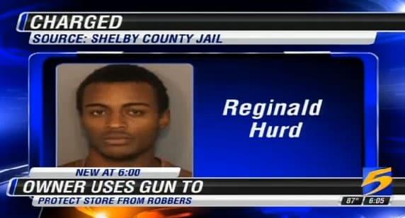 Mug shot of Reginald Hurd. (Photo credit: WMCTV)