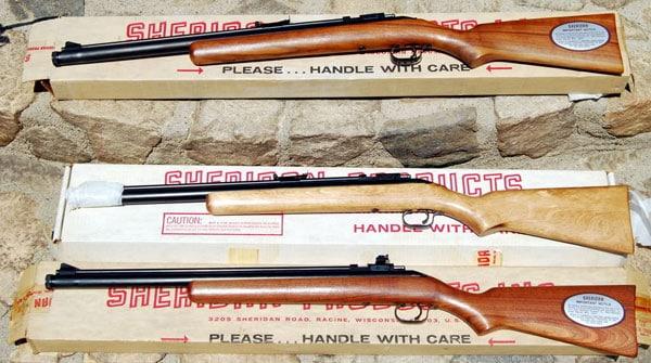 Sheridan Model F air rifles