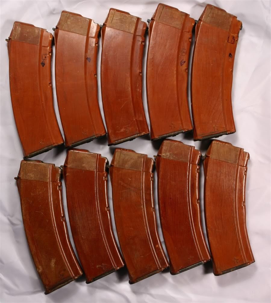 Bakelite 5.45 magazines