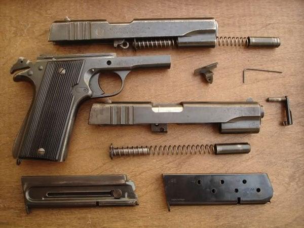 Ballester-Molina 1911 training pistol